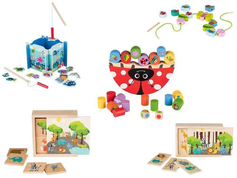 PLAYTIVE® JUNIOR Holz Spielzeug