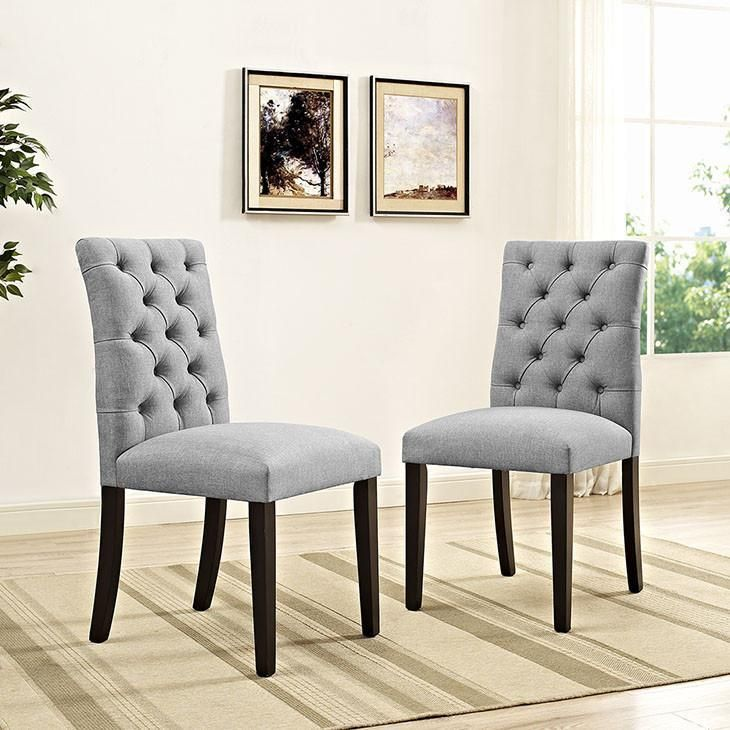 Castro fabric dining chair in 2020 dining chairs fabric