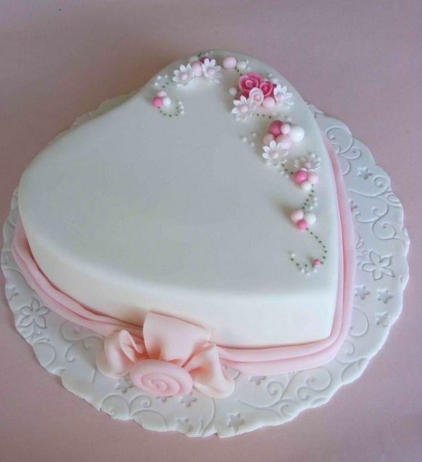 Torte mit fondant glasieren