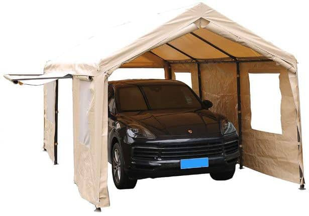 Pin on Best Portable Garages Reviews