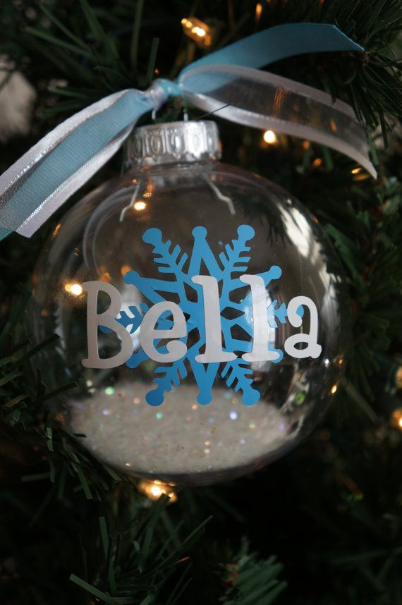 Personalized Christmas Ornament Christmas Ornaments Personalized Christmas Ornaments Christmas Crafts