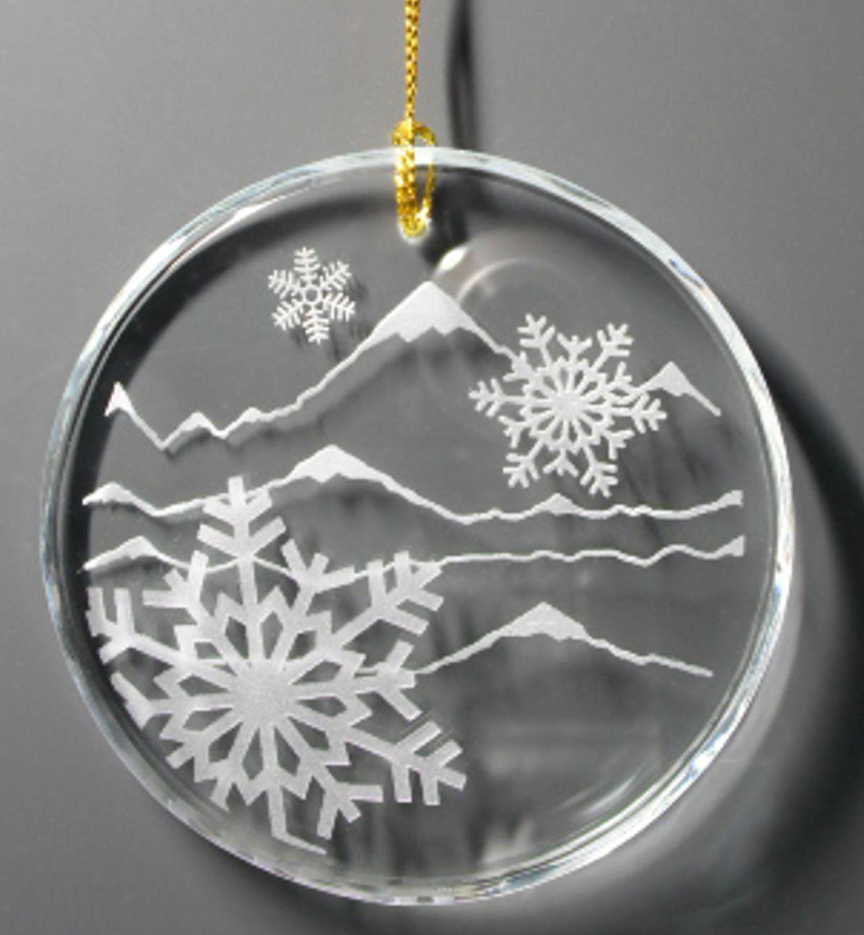 Crystal Snowflake Ornament Gifts Christmas ornaments