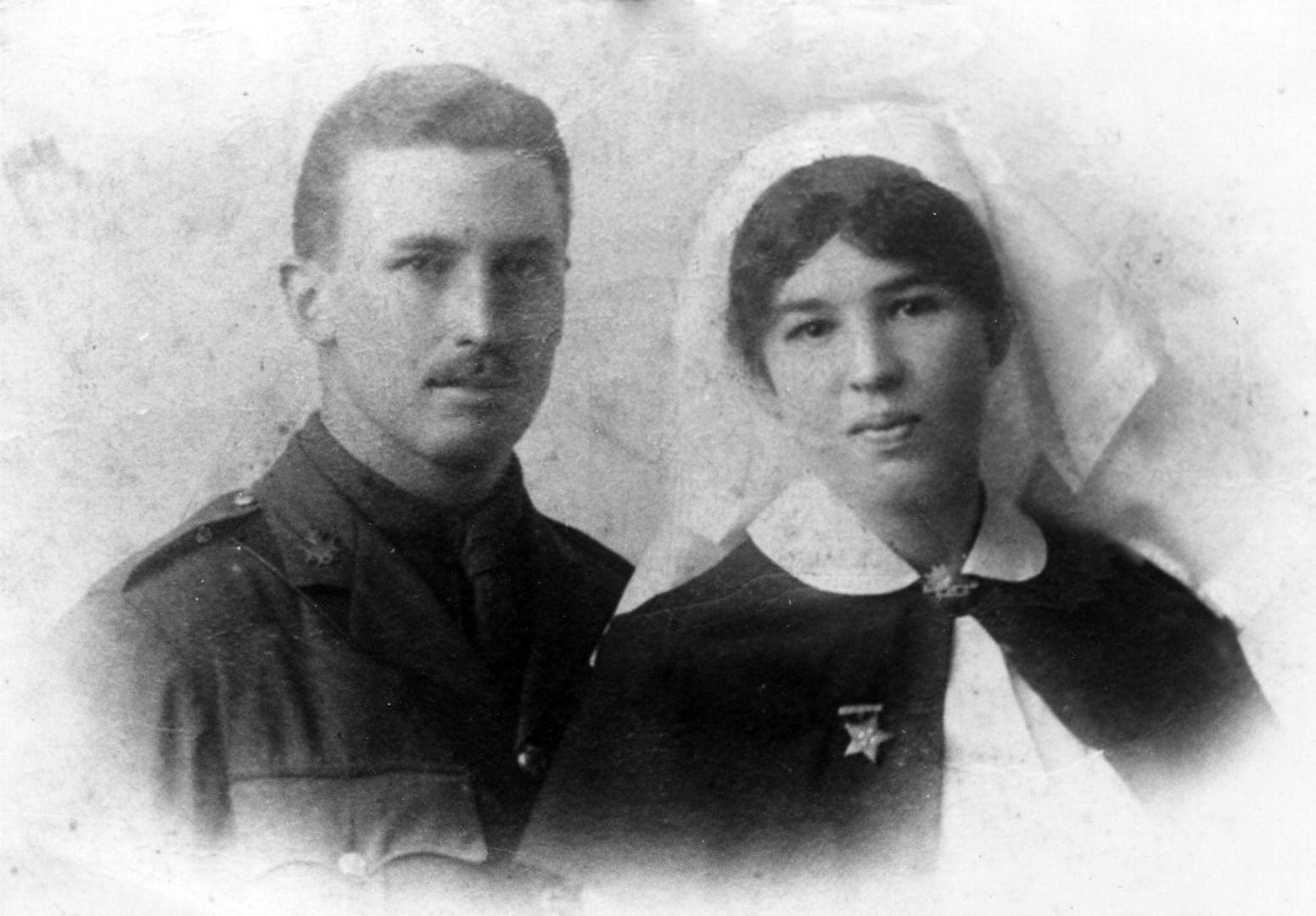 Sister Hilda Mary Steele WW1 a New Zealander in the