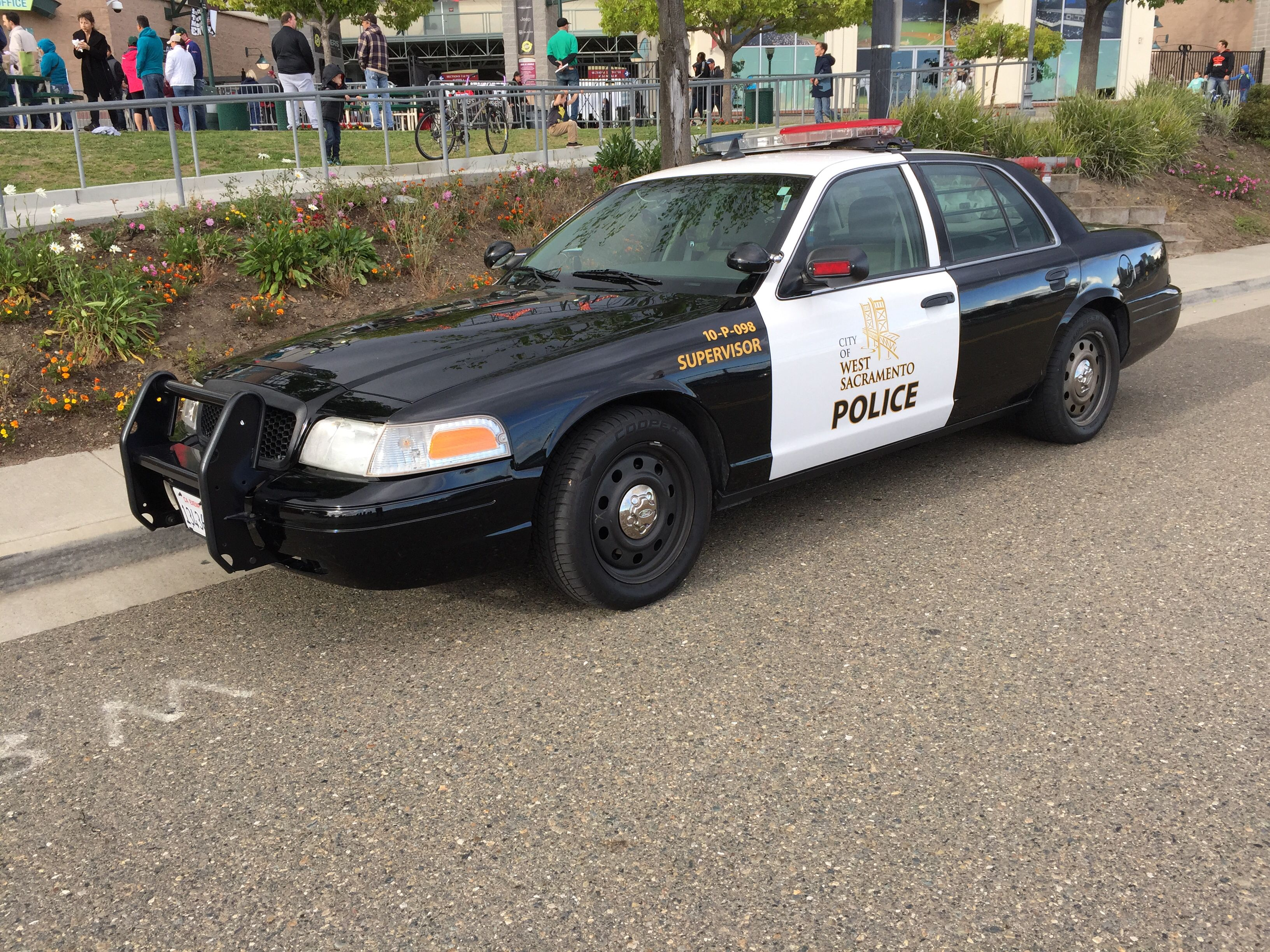 West Sacramento Police Ford Crown Victoria Us Police Car