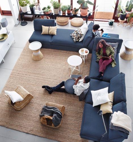 die besten 25 ikea lounge ideen auf pinterest fernsehraum design moderne tv ger te und ikea co. Black Bedroom Furniture Sets. Home Design Ideas