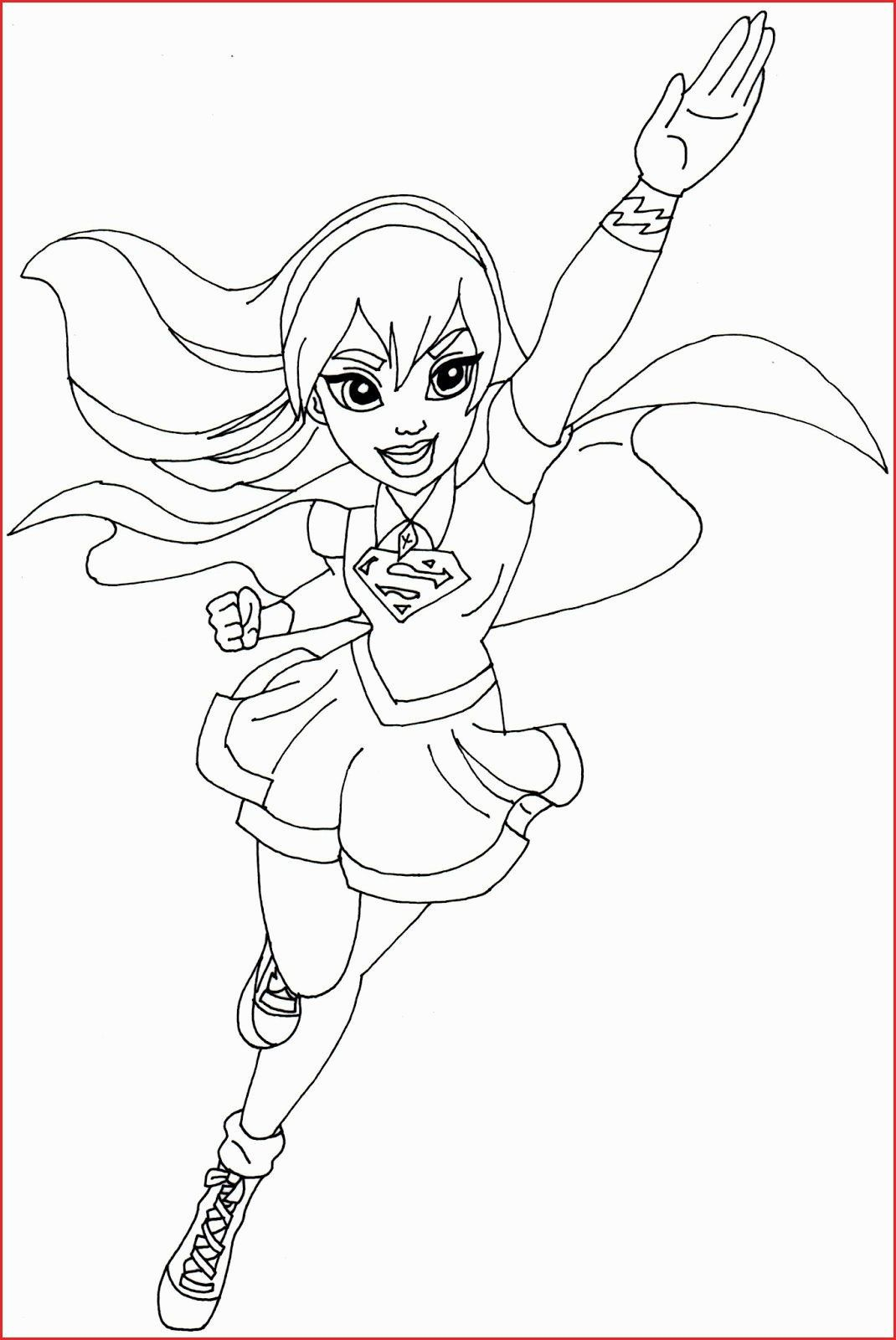 Kid Superhero Coloring Pages Lovely Supergirl Coloring Pages Printable Superhero Coloring Superhero Coloring Pages Spiderman Coloring Superhero Coloring