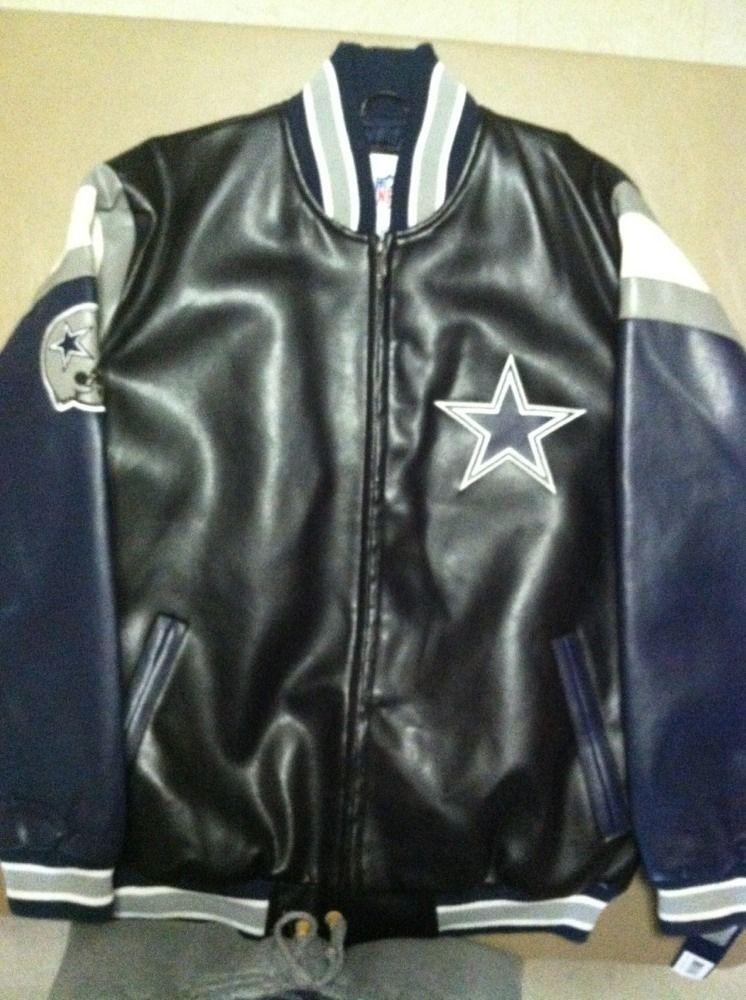 newest 786a7 a9c18 Dallas Cowboys Faux Leather Jacket | Dallas Cowboys ...