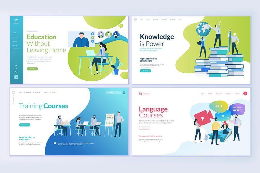 Web Design Templates For Educatation Web Template Design Web Design Quotes Web Design