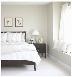 On White Paints | Paint | Paint colors with white trim, Bedroom ...