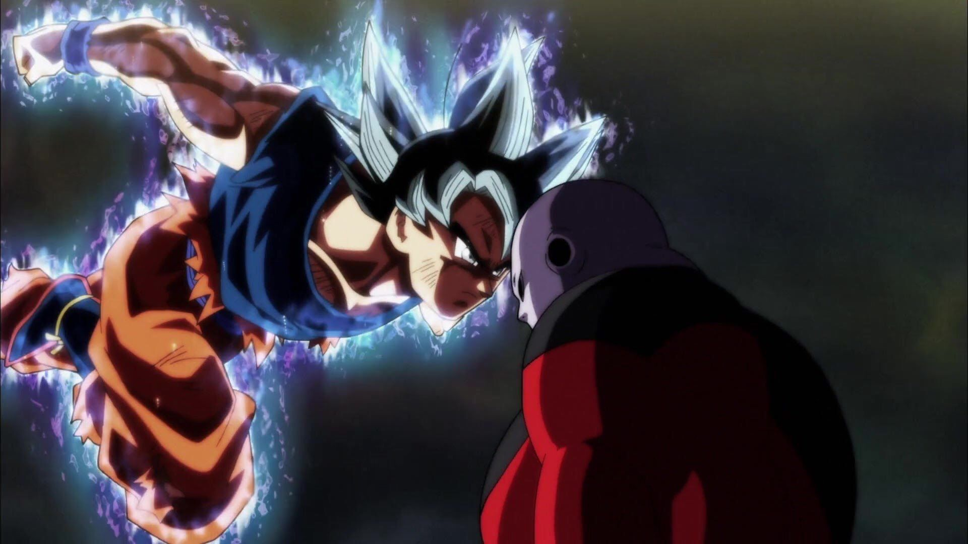 Goku Limit Breaker Ultra Instinct Vs Jiren Dragon Ball Super