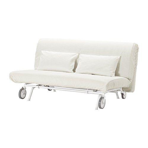 Schlafsofa ikea  IKEA PS Bezug 2er-Bettsofa, Gräsbo weiß | Ikea ps, Bettsofa und Ikea