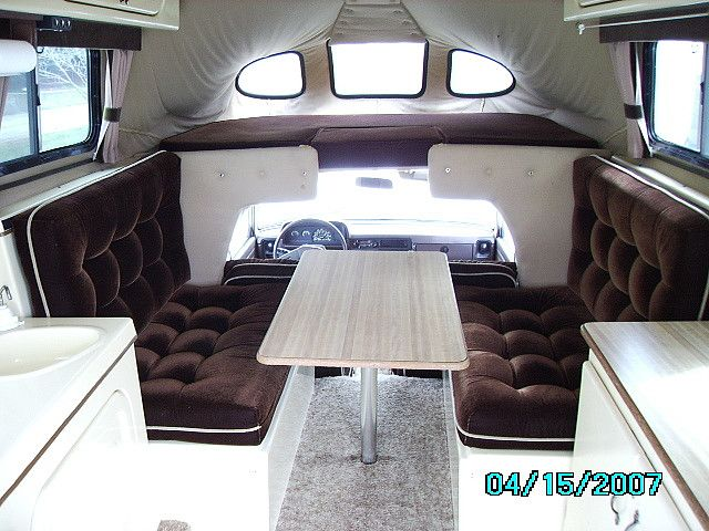 Thor Chateau 23u Compact Class C Motorhome Interior Rv Vacation