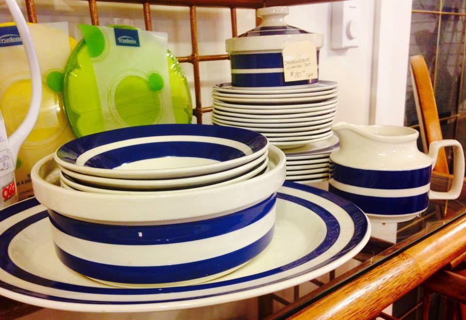 Staffordshire Potteries Dish Set - $80