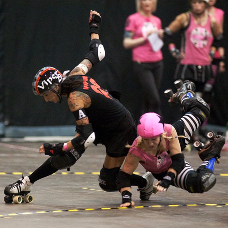 Id totally be a kick ass derby girl! Roller Derby