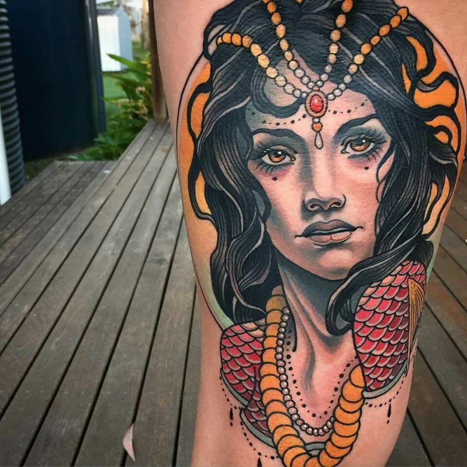 Tattoo by Sam Clark Tatuagens impressionantes, Tatoo