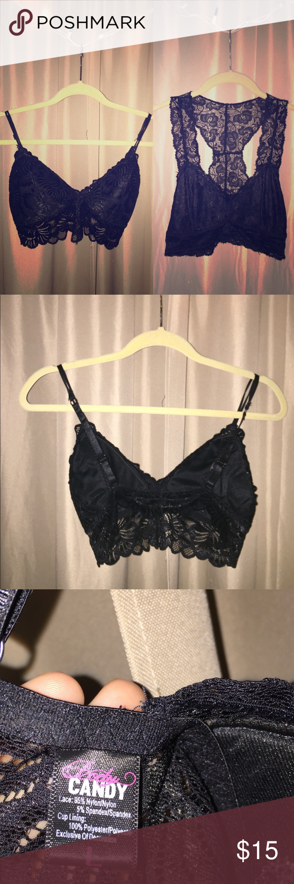 33daf484d7 ... Lace Bralettes Both bralettes come together in the order  ) Both in  great condition and can fit a size C-cup or smaller! Intimates   Sleepwear  Bras