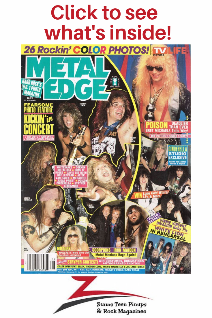 Pin On Rock Magazines To Revisit Your Past