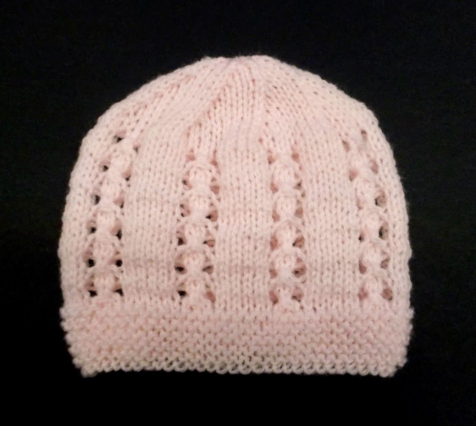 This is a very sweet little baby hat Bella means beautiful ...
