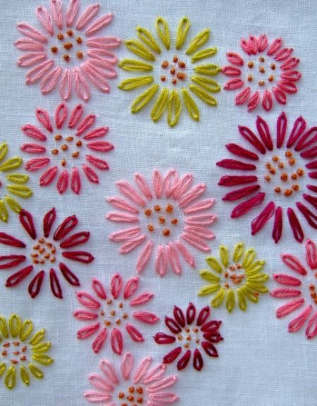 20 Beautiful Hand Embroidery Designs | Hand embroidery, Beautiful ...