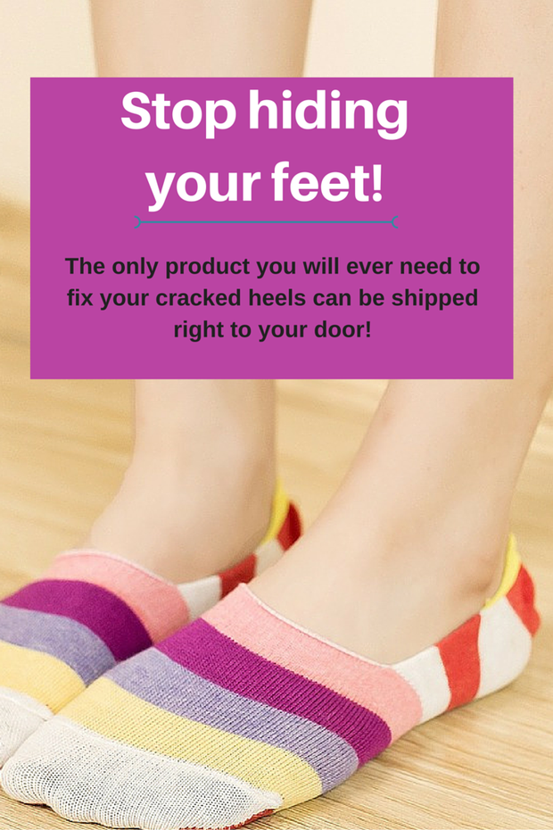 Bad cracked heels can be fixed with this #1 product!