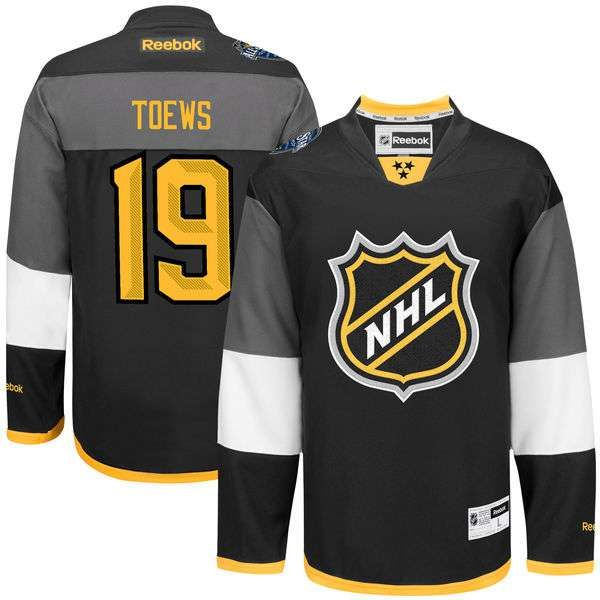 Chicago Blackhawks Jonathan Toews Black 2016 All Star Stitched NHL Jersey