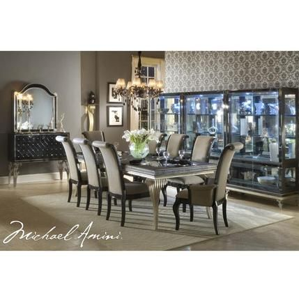 Hollywood Swank Sideboard Beautiful Dining Rooms Dining Room