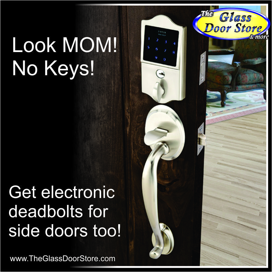 Touchpad keyless deadbolts and entrance door hardware. Love the ...
