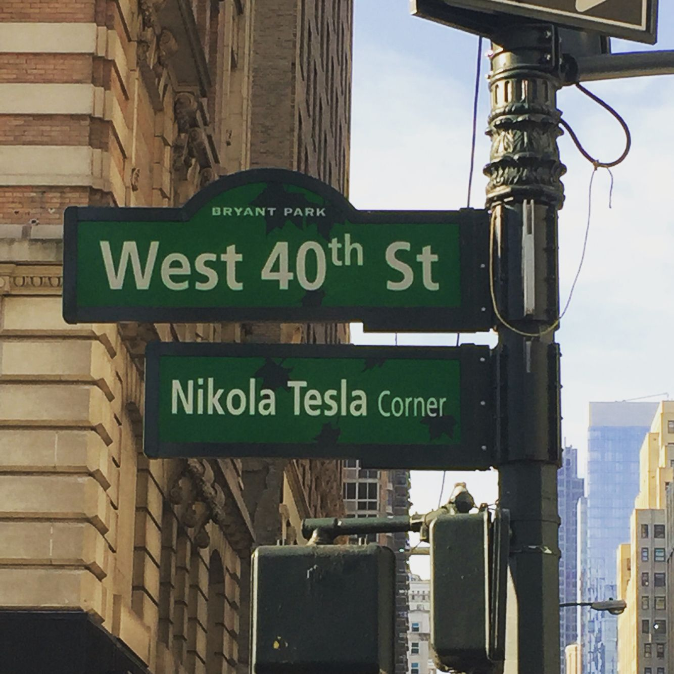 New York Nikola Tesla