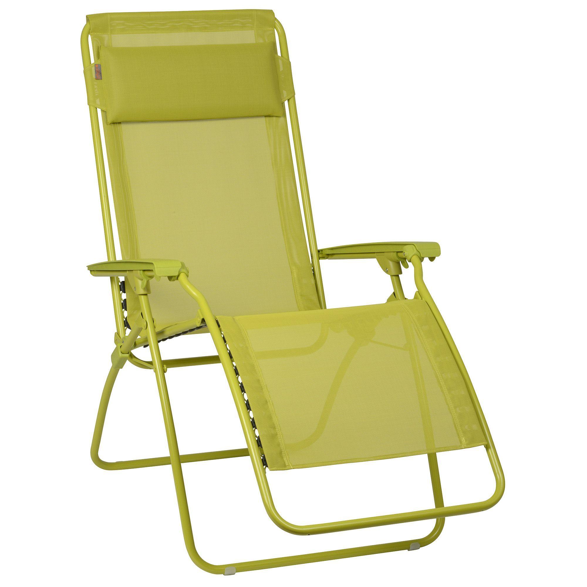 fauteuil relax pliable vert lafuma r clip chaises longues et chiliennes transats et chaises longues jardin par pice dcoration intrieur alinea - Fauteuil Relax Jardin Pliable
