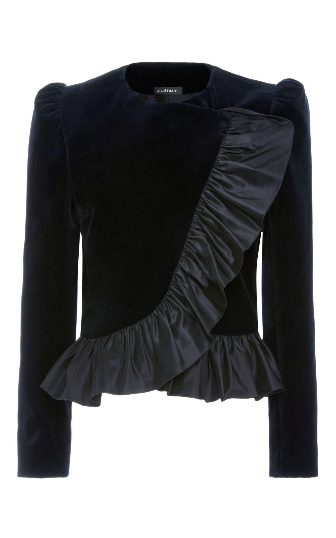 Maxine Ruffle Jacket by Jill Stuart