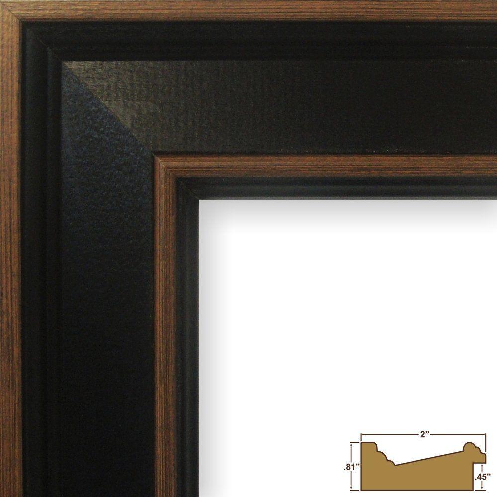 Craig Frames Country Estate Black Hardwood Picture Frame 20 By 30