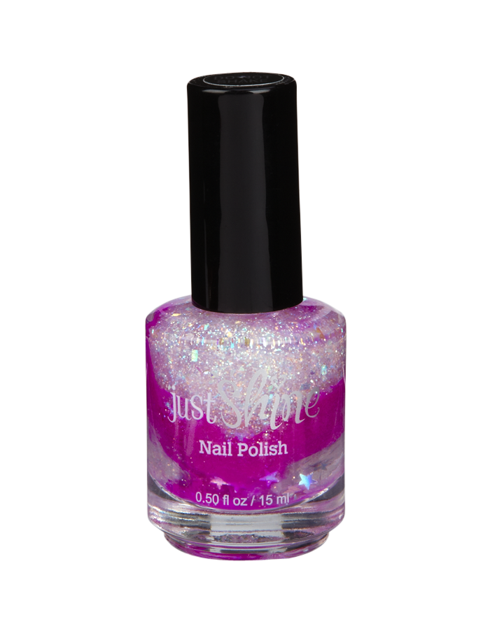 Neon Purple Glitter Mixable Nail Polish | Nail Polish & Kits ...