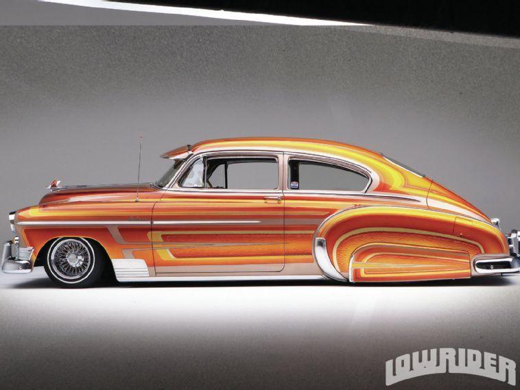1950 Chevrolet Fleetline Lowrider has got loads of style Kewl