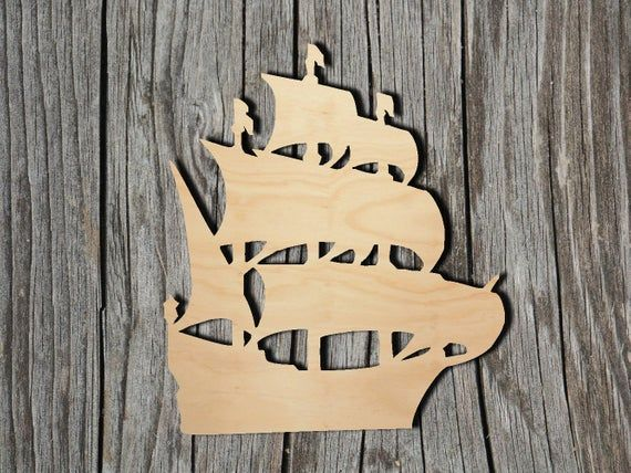 Anchor MDF Laser Cut Craft Blanks in Various Sizes