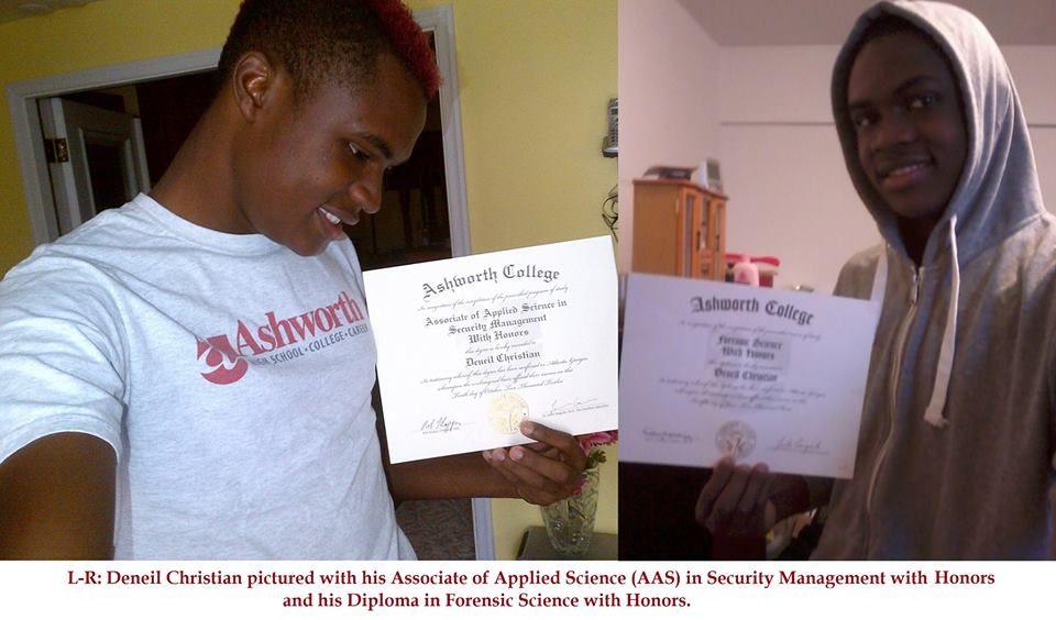 Deneil is a graduate of the ashworth college associate