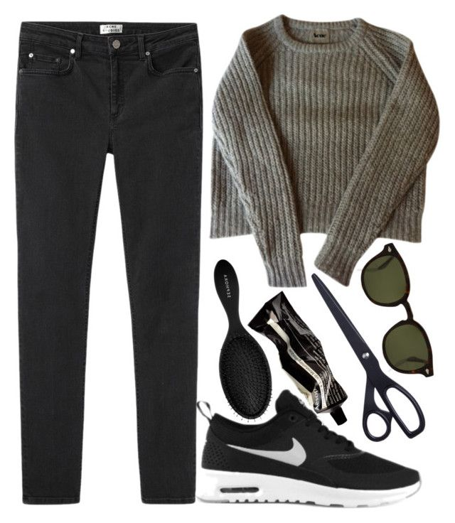 """""""ik zie u graag"""" by s-ensible on Polyvore featuring polyvore, fashion, style, Acne Studios, NIKE, Moscot, Aesop and Sephora Collection"""