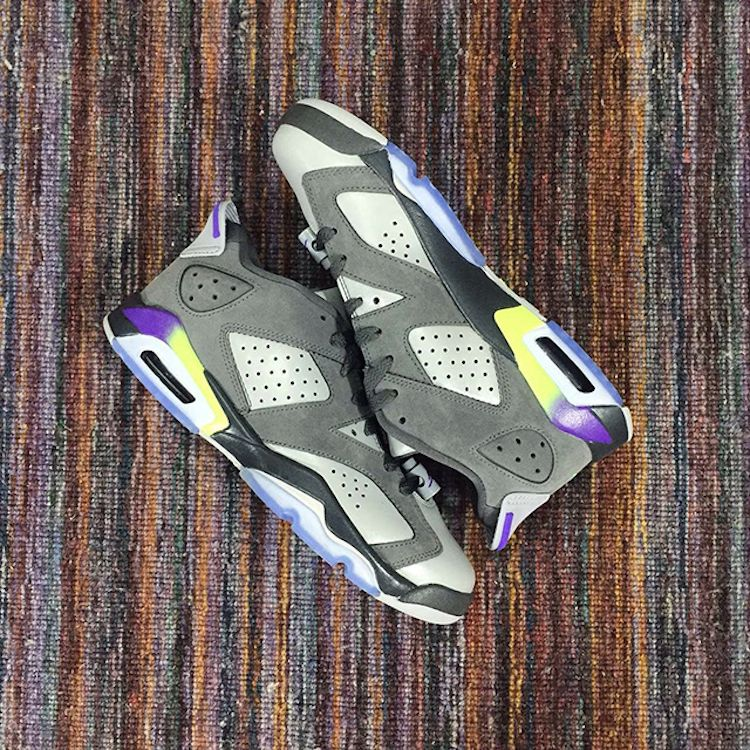 AIR JORDAN 6 LOW Grey Purple–Neon RELEASE DATE  9 5 15(rumored)   LaceMeUpNews b856de134