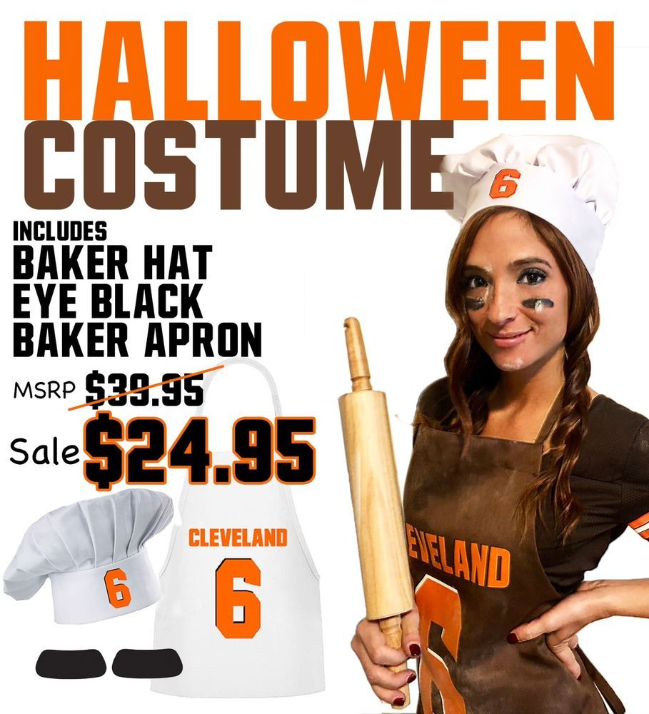 f6dc45de452 Sexy Baker Halloween Costume Cleveland Browns Baker Mayfield  fashion   clothing  shoes  accessories