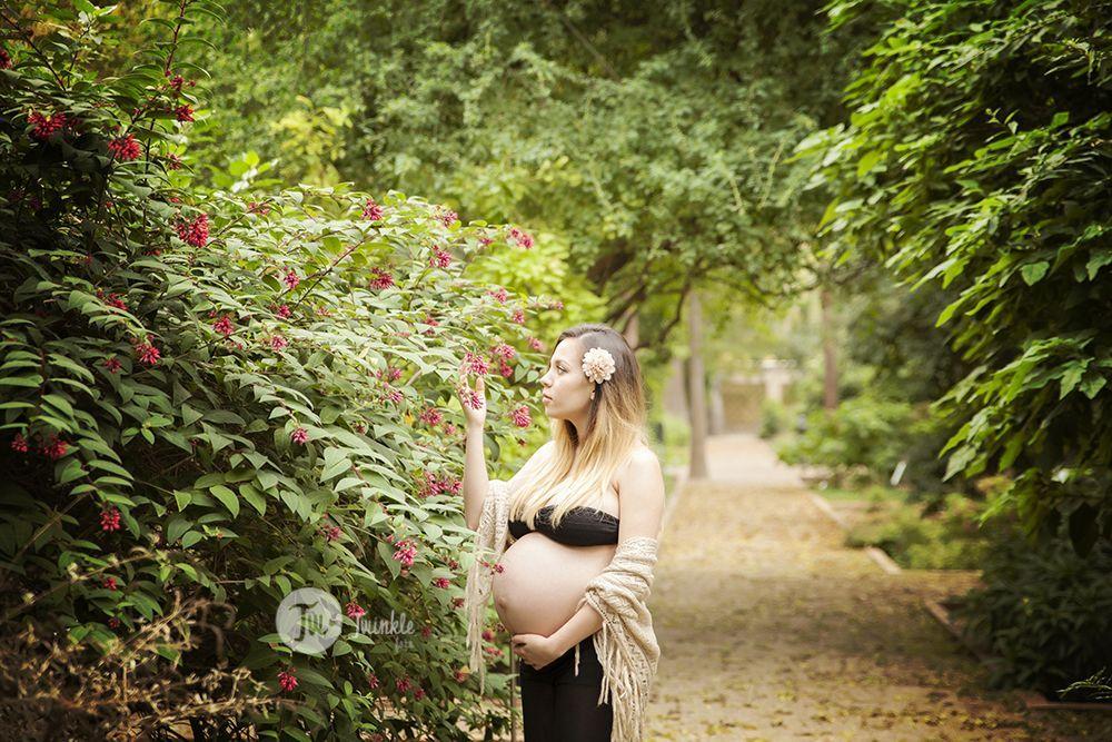 Foto de embarazada en el jard n bot nico de valencia for Boda en el jardin botanico