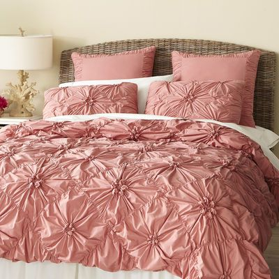Savannah Bedding & Duvet Rose - This screams Rosetta from Tinkerbell! Very easy DIY project too.