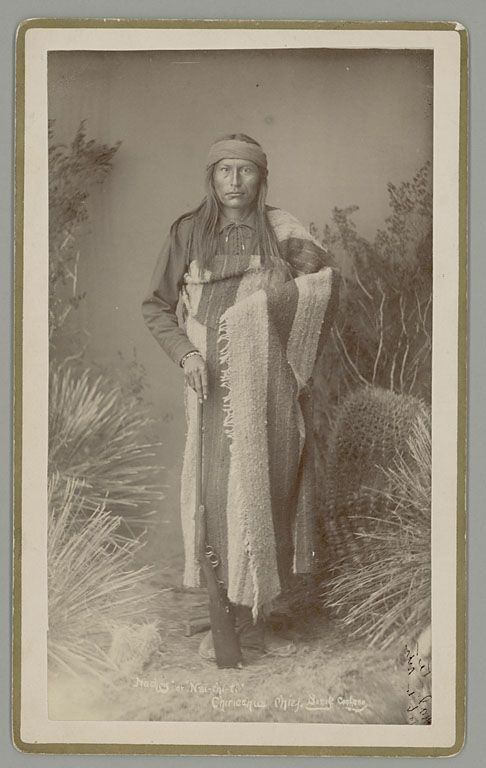 Natchez (also spelled Naiche), son of Cochise and grandson of Mangas Coloradas, taken by photographer Frank A. Randall in 1886: