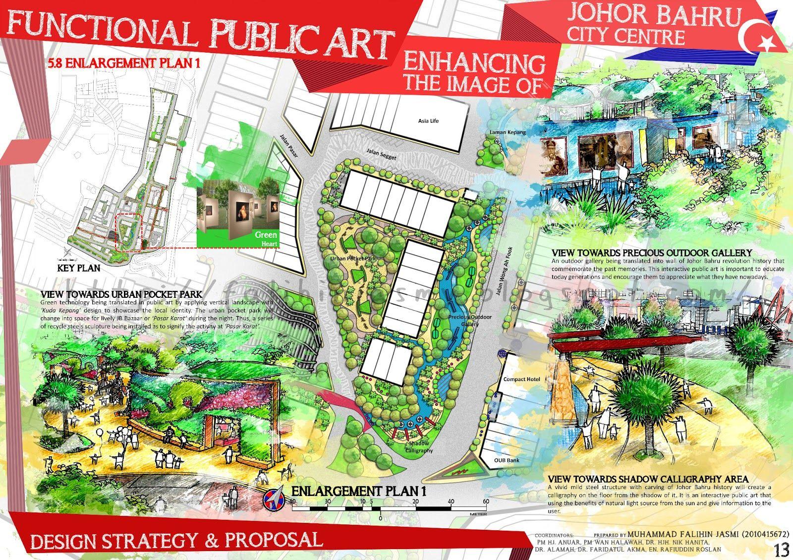 Image Result For Landscape Architecture Presentation Board Layout