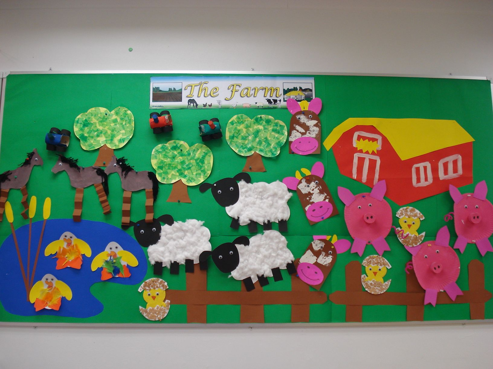 My Pre K Down On The Farm Display Wall