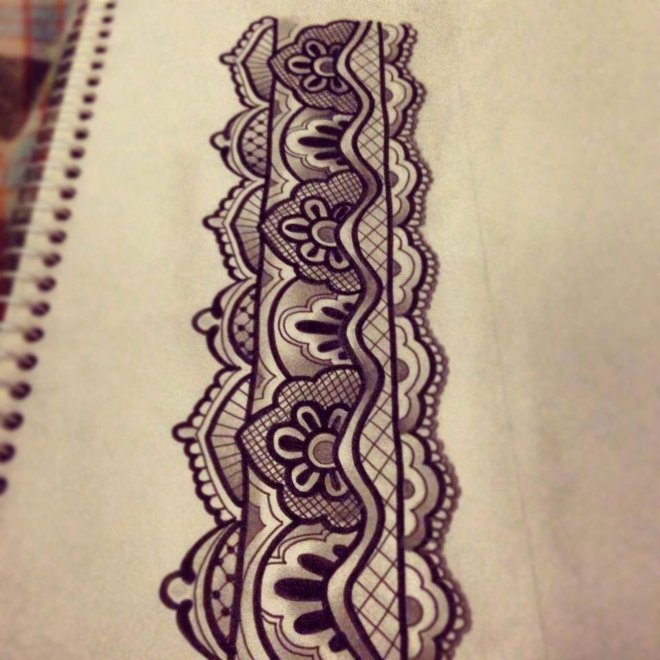 Image Result For Mandala Garter Tattoos Tattoos Pinterest