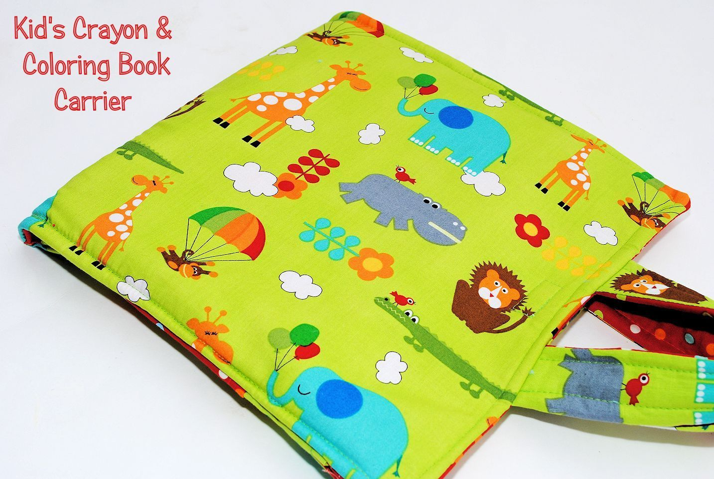 Ladybug Hooded Towel Pattern Sewing Projects For Kids Crayon Holder Crayon Book
