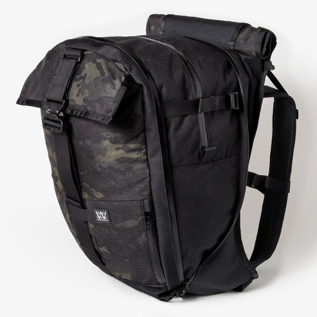 d3ad4fa7a7c3a The Vandal - Black Camo by Mission Workshop - Weatherproof Bags & Technical  Apparel - San Francisco & Los Angeles - Built to endure - Guaranteed forever