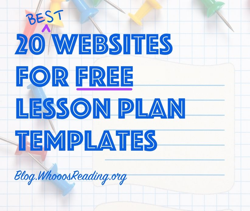 By Whooos Reading Blog Team Jump Into With All The Resources - Free kindergarten lesson plan template