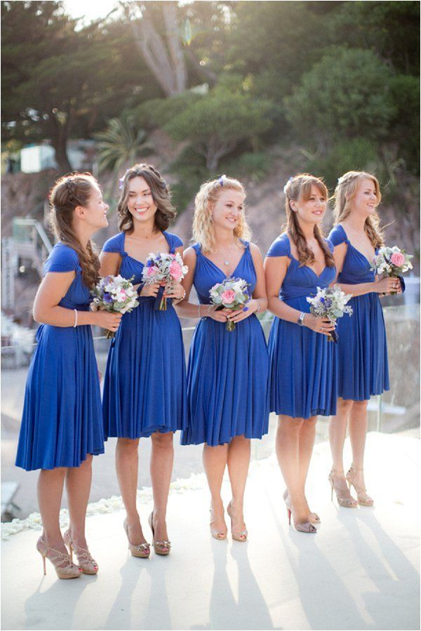 Royal Blue And White Wedding Inspiration Royal Blue Bridesmaid