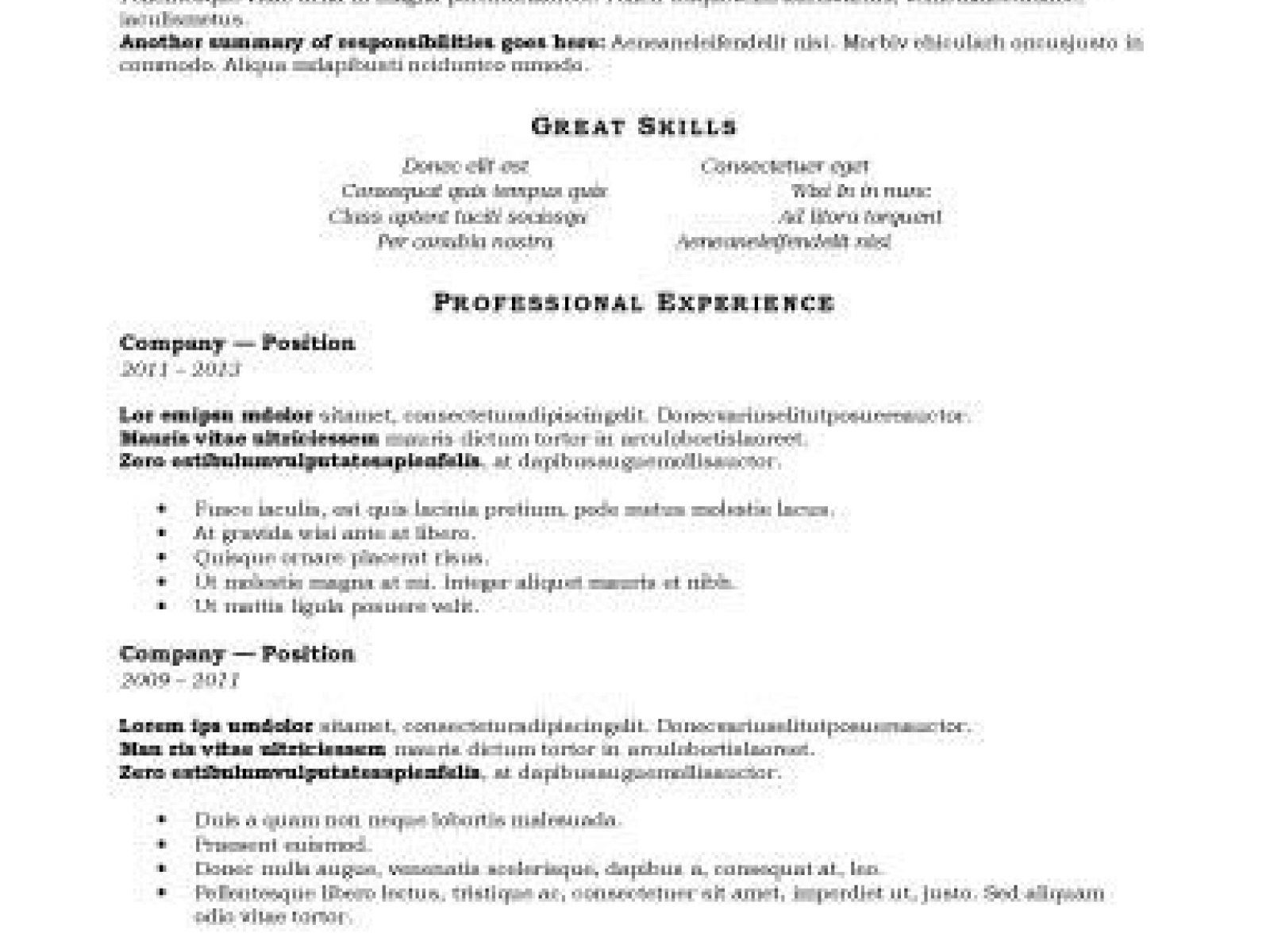 Free Resume Format Downloads Cover Letter For Electronics Technician Positionresume Samples Cv .