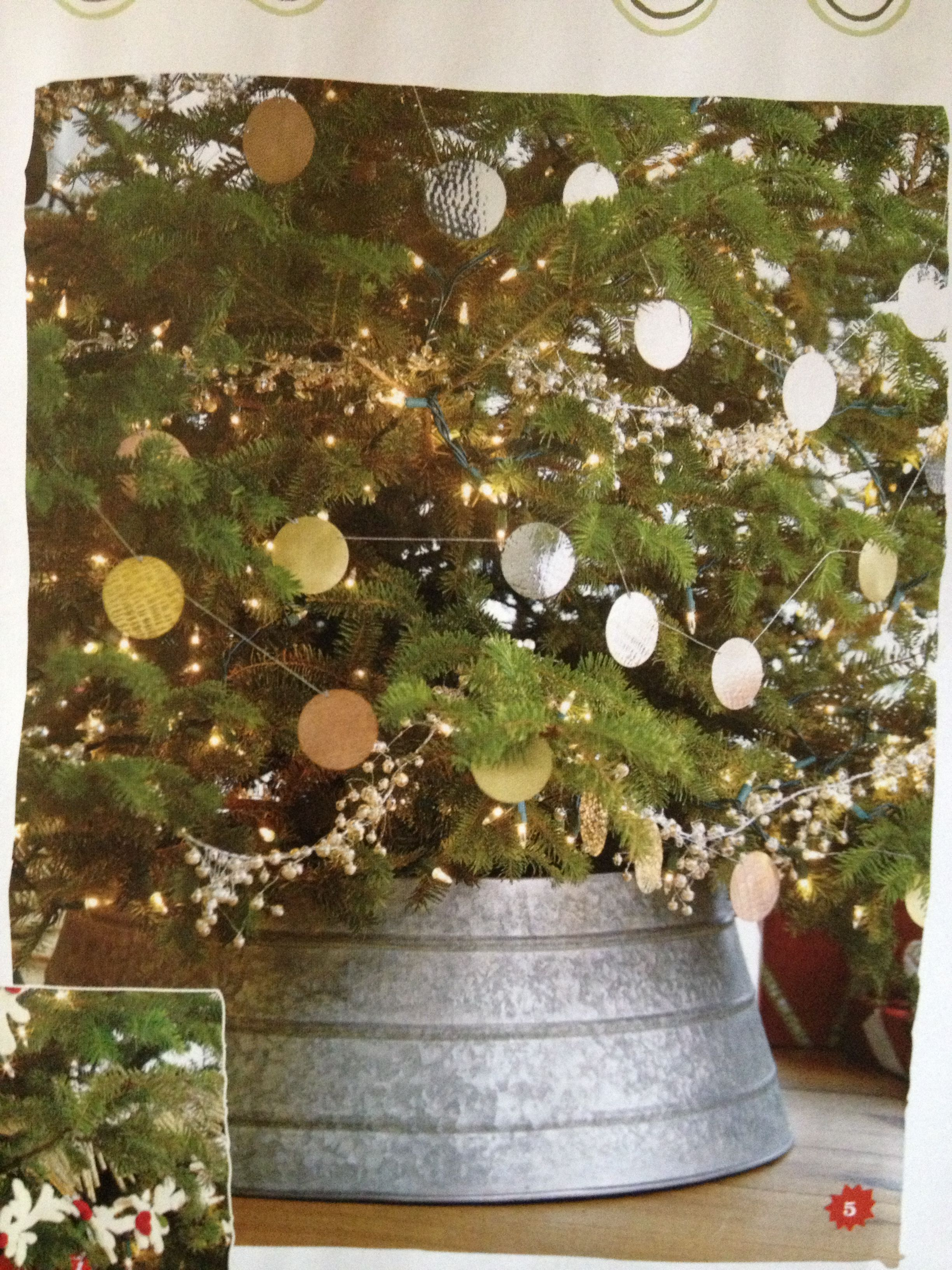 Jingle Bell Garland Crate And Barrel Details Hammered Metal Garland 1995 6 Silver